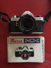 Pentax MX mit SMC Pentax