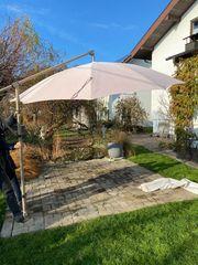 Ampel - Sonnenschirm 3m Durchmesser hochwertig