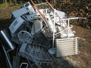 Metall-Schrott-Abholung in den Waldgemeinden