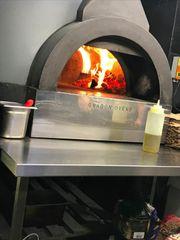 Pizzaofen Holz und Gas mit