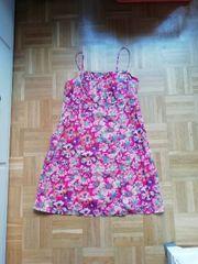 44 2XL Pink bunt Blumen