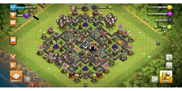 Clash Of Clans Account Rathaus