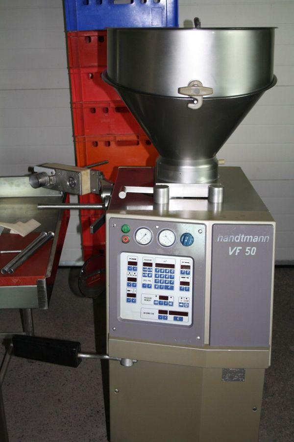 Handtmann VF50 Vakuumfüler Vakuumfüllmaschine Füllmaschine