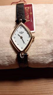 DAVOSA Swiss Damen Leder Armbanduhr