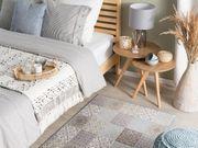 Teppich bunt Mosaik-Muster 80 x