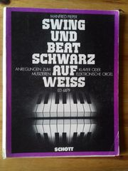 Klaviernoten SWING UND BEAT SCHWARZ