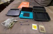 Nintendo 3DS mit einem Spiel