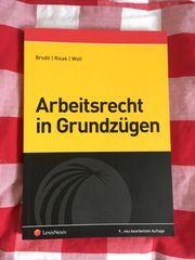 Buch Arbeitsrecht in Grundzügen