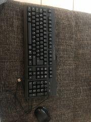 Tastatur mit Maus schwarz