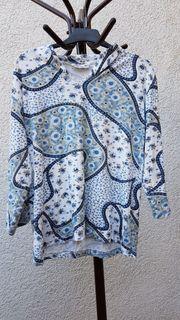 Romantisches Shirt in tollen Blau-Tönen