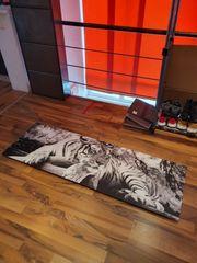 Gemälde Übergröße Druck weißer Tiger