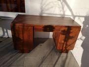 Massivholz Schreibtisch zum restaurieren