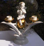 Porzellan Art Deco Kerzenhalter 20
