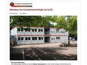 Monteur zur Containermontage m w