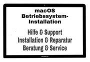 MacBook iMac Hilfe macOS Installation