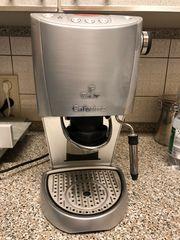 Tchibo Cafissimo Kaffeemaschine Silber inklusive
