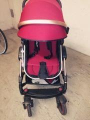Kinderwagen mit Sitz - Liegesack