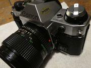 Canon Spiegelreflex Kamera Analog