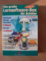 Lernsoftwarebox 4Cd s