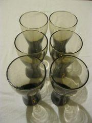 6 Trinkgläser Gläser