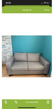 Sofa 2-Sitzer Zweisitzer wie neu