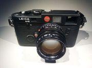 Leica M6 black mit Summilux