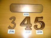 Briefeinwurf Bronze 293x75mm Schlitzmaß 231x37mm