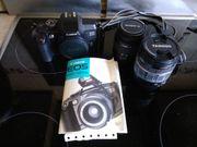 Canon EOS5000 und Objektive