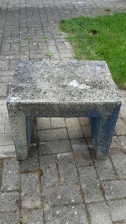 Sitzbank Betongussteil