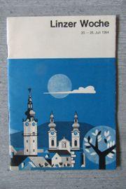 Linzer Woche 1964 Broschüre für