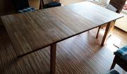 Esstisch mit Einlegeplatte