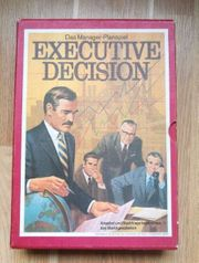 Executive Decision Das Manager-Planspiel 1971