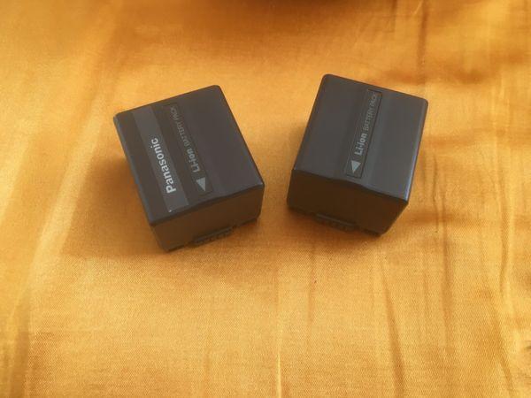Akku für Leica Panasonic Filmcamera