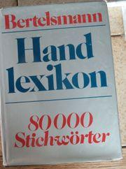 Bertelsmann Handlexikon 80000 Stichwörter 700