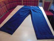 Herren Jeans - Twillhose dunkelblau Gr