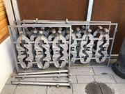 Metallzaun - Geländer - einzigartig