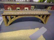 Modellbahn Bogenbrücke Faller