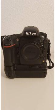 Nikon D800 mit Grip und