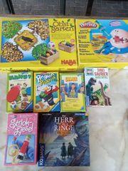 Spiele Bücher und cd