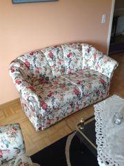 Polster- Sitzgarnitur 2-Sitzer 2 Sessel