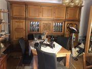 Gut erhaltener Wohnzimmerschrank - Eiche rustikal