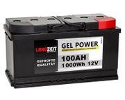 Langzeit Gel Batterie 100AH 12V