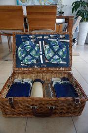 Luxus Picknickkorb Marke Optima West