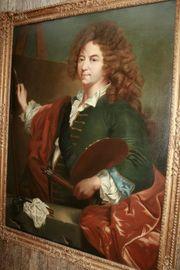 Prachtvoller grosser Barockmeister Unbekanntes Selbstportrait