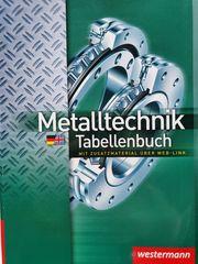 Westermann Metalltechnik Tabellenbuch 5 Auflage