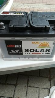 Solaranlage komplett Set Eeidezaun und