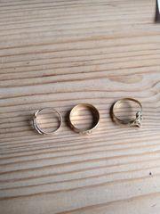 750er Gold 3 Ringe