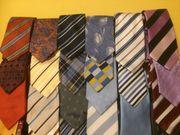 Über 30 Krawatten - einwandfrei div