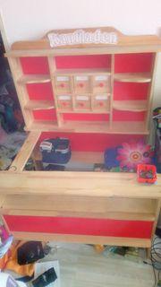 Kaufladen Einkaufsladen Holz Kinder-Kaufladen Holz
