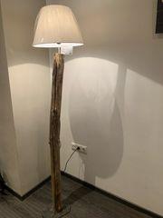 Treibholz Stehlampe ca 1 70